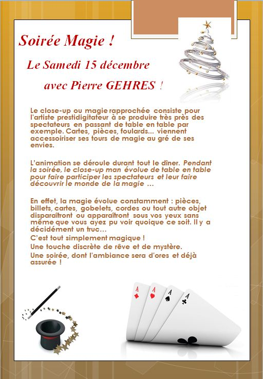 Pierre GEHRES Magie