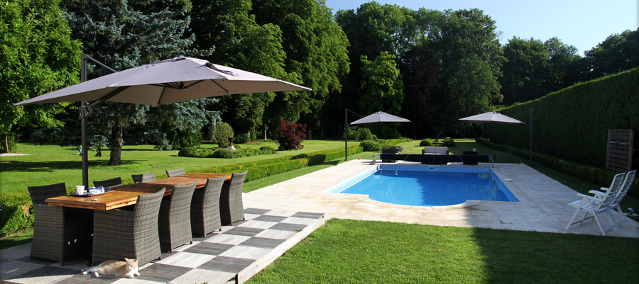 Castel Morin piscine