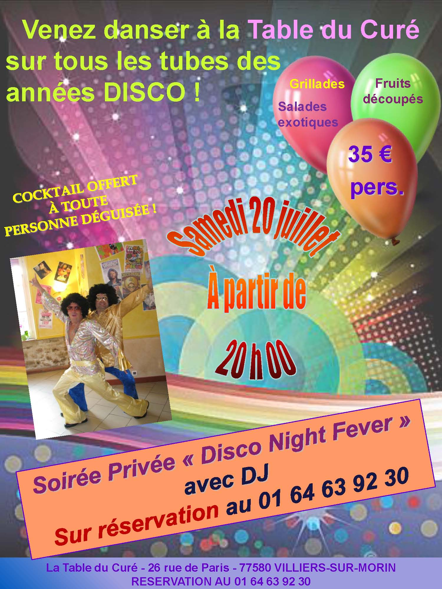 SOIREE DISCO 2013